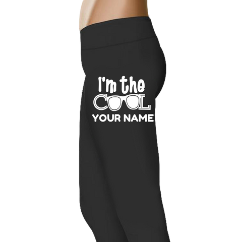 I'm The Cool Grandma -Custom Legging - Full Length OR Capri
