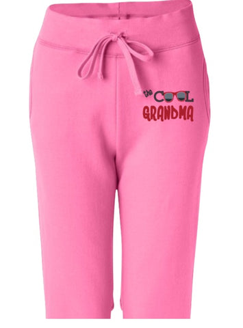 Pants - The Cool Grandma Women's Open Bottom Sweatpants With Pockets
