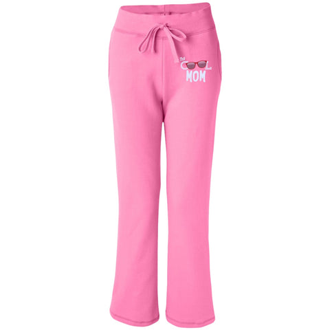 Pants - Women's Open Bottom Sweatpants With Pockets