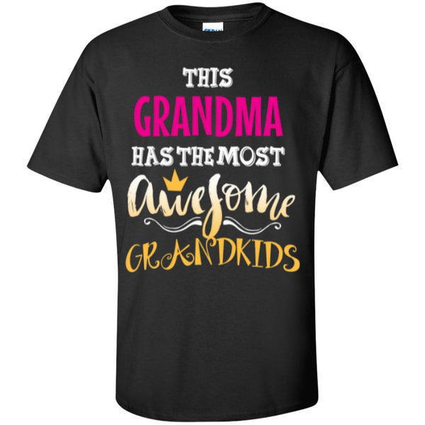 Short Sleeve - Awesome Custom Grandma UCotton T-Shirt