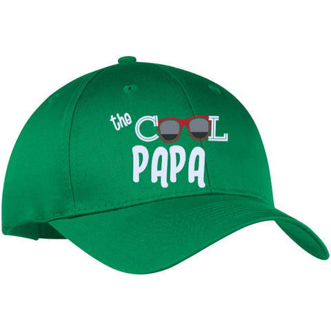 Image of Velcro Closure - {Customize] The Cool Papa Twill Cap