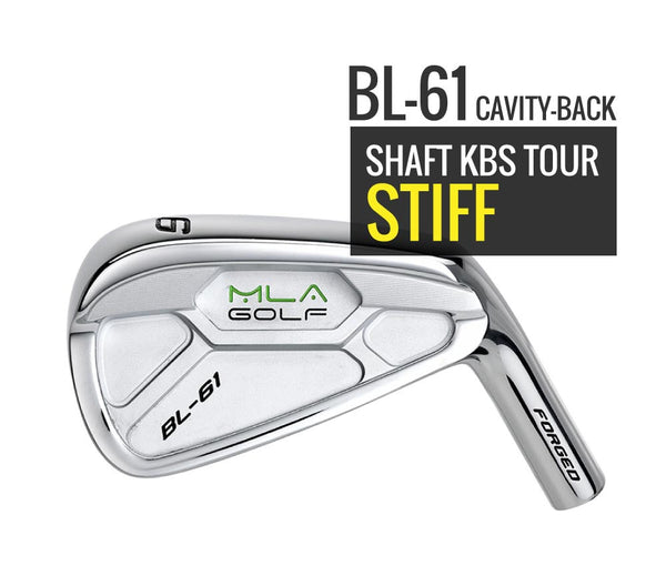 Iron BL61 Limited Edition - Shaft KBS Tour Stiff