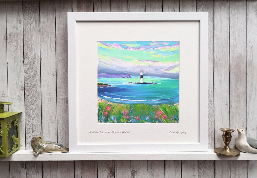 """ A balmy breeze at Rosses Point"""