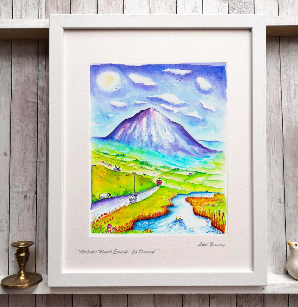""" Majestic Mount Errigal """