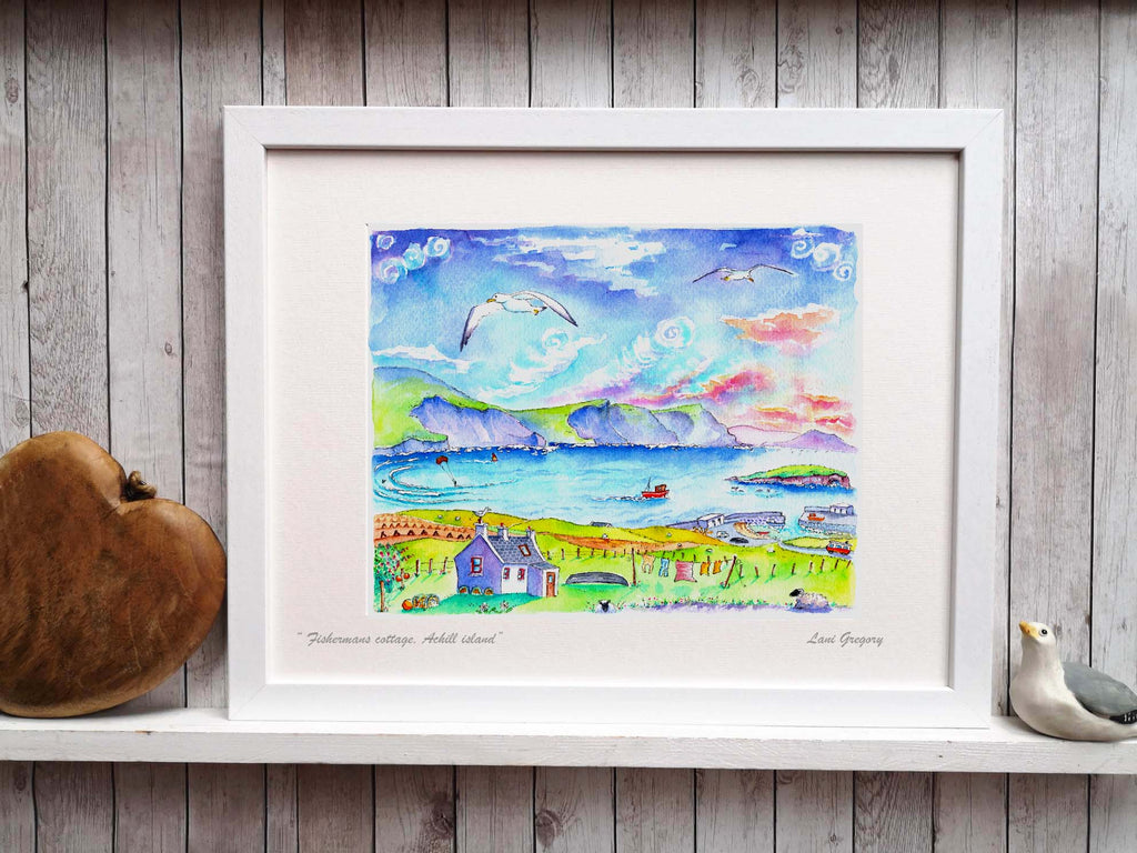""" Fishermans cottage, Achill Island"""