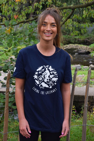 Buy a Tee, Plant a Tree (Navy)