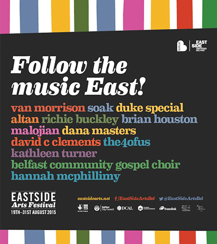 Poster commemorating EastSide Arts Festival 2015