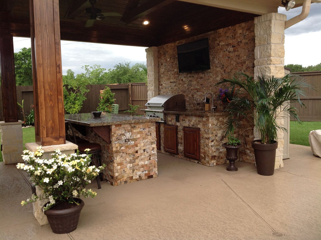 Attractive ... Outdoor Kitchens ...