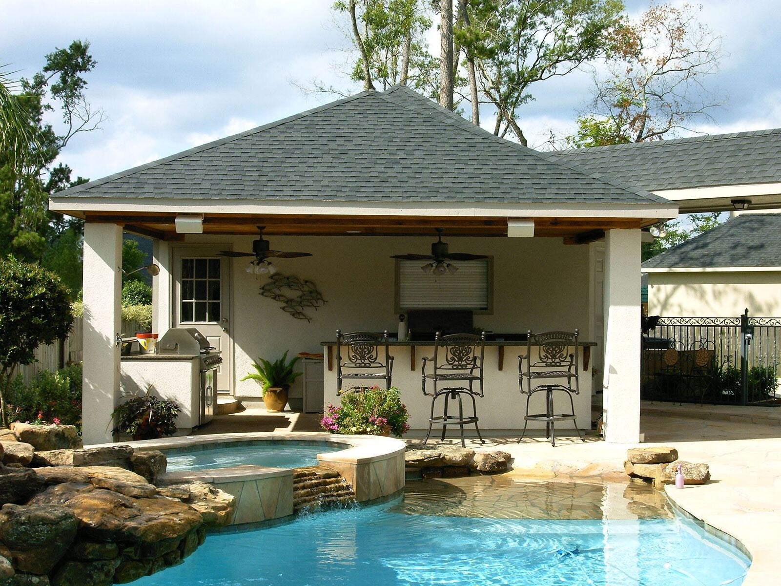 Patio Covers and Cabanas Backyard Retreats