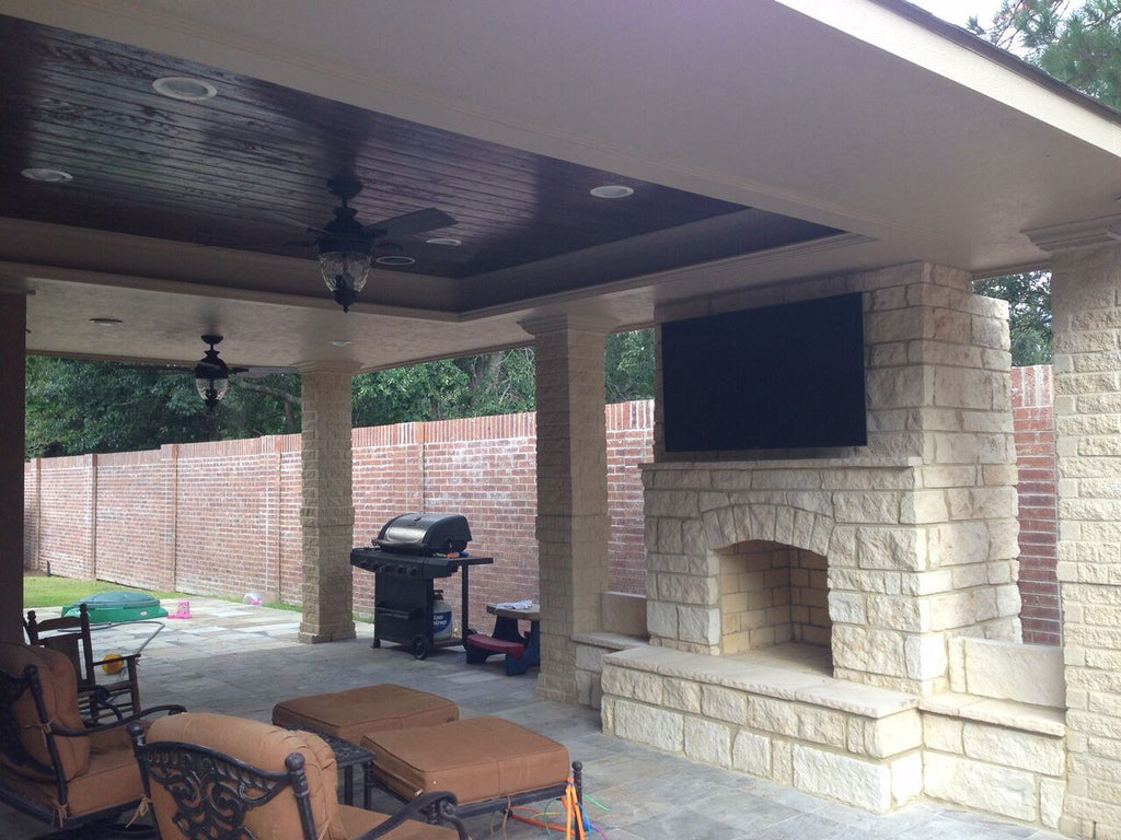... Houston Outdoor Fireplace ...