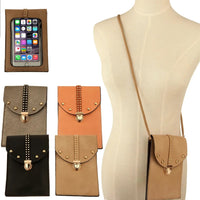 Crossbody Studded Touchscreen Cellphone