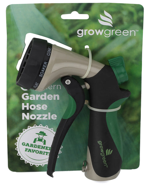 Garden Hose Nozzle Heavy Duty 8-Way High Pressure Sprayer Water Hose Nozzle Hand Sprayer With Convenient Grip
