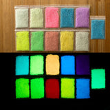 10 color DIY Graffiti Paint Luminous Acrylic Glow in the Dark or phosphorescent, pigment Sand Particles Party Walls #85080