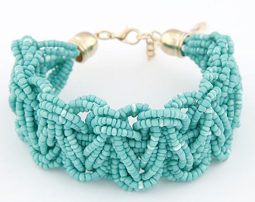 2015 New Woman Bracelets Hot Brand High Quality Exaggerated 6 Colors Chain Statement Charm Bracelet Jewelry Sf3-1