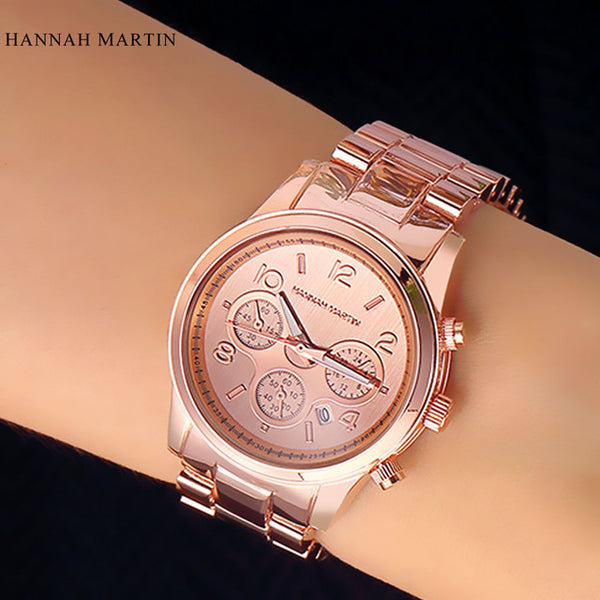 2017 New Arrivial Montre Femme Gold Watches Brand Famous Japan Quartz Women Casual Ladies Fashion Reloj Mujer Free Drop Shipping