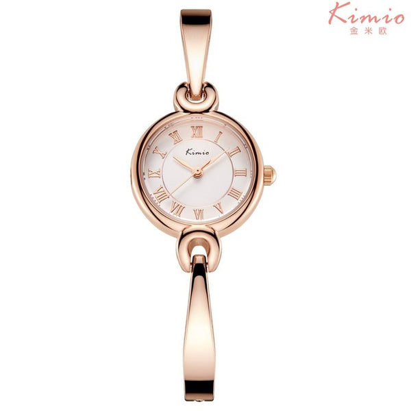 2017 Sale New Luxury Blue Jewelry Women Watch Waterproof Fashion Casual Kimio Stainless Steel Ladies Montre Homme Marque Deluxe
