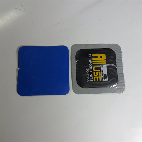 40 Pieces / Box 55mm Square Nature Rubber Tire Repair Patch / Tyre Repair Patch / 40PCS/BOX Tire Repair Tools