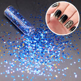 1 Box Ultrathin Paillette Deep Colors Nail Glitter UV Gel Polish Manicure Tips 3D Nail Art Decorations Sequin New