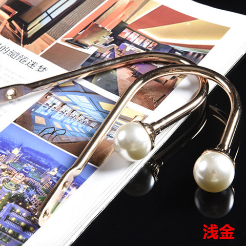1 Pair Modern Luxury Curtain Crystal Metal Holder Hooks Accessories Peals Curtain Buckle For Living Room Bedroom Curtains CA0033