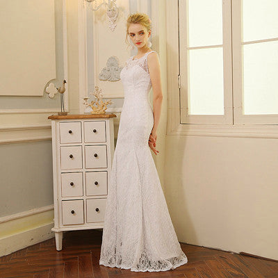 QQ Lover 2018 Mermaid Wedding Dress Cheap Vestido De Novia Wedding Gown 2018