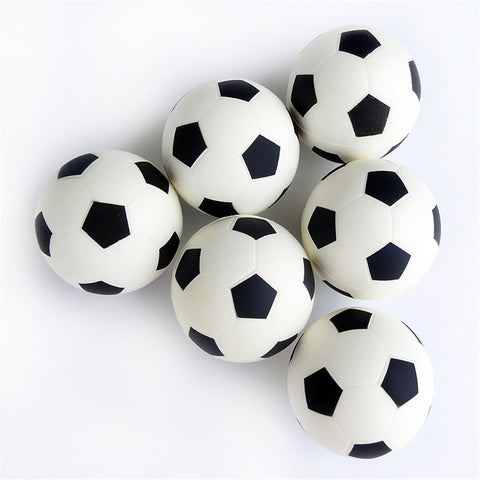1 Pc Children Kids Elastic Ball Baby Mini Football Toys Soft Soccer Ball EVA Foam Ball children's day Soccer Ball 9cm/3.54inch