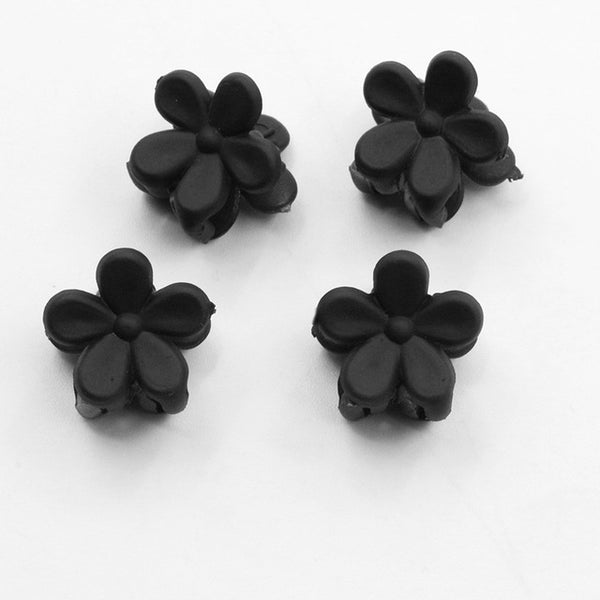 10 Colors Small Dasisy Flower Hair Claws Lovely Hair Clips Accessories for Kids  Cute Headwear for Women  1 pc