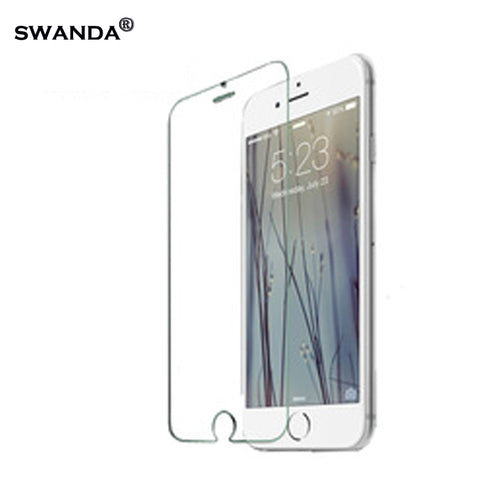 0.3mm Tempered Glass Film for iPhone 5 5s 9H Hard 2.5D 6s 6 plus  screen protector protective guard film