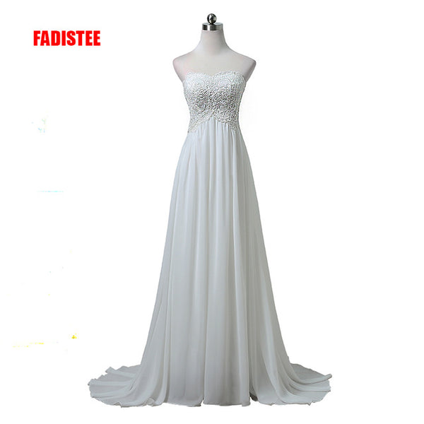 FADISTEE elegant wedding party Dresses appliques Real Photo Plus Size Vintage Lace Wedding Dresses Princess Vestido de Noivas
