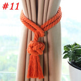 1pc Home Decor Curtain Holder Drape Curtain Accessories Tassel Tie Back Living Room Curtain Rope Tieback Window Curtain Clips 30