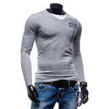 2017 New Autumn Fashion Brand Men Clothes Slim Fit Men Long Sleeve Shirt Men Casual Shirt Social Plus Size M-2XL