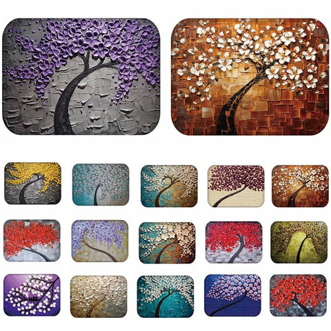 1pcs 40*60cm Tree Pattern Anti-Slip Carpet Door mats doormats Outdoor Kitchen Bathroom Living room Floor Mat Rug 48221