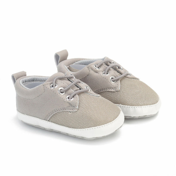 2016 New  Baby Boy Shoes Good Quality Grey Two Strap New Born Baby Girl Toddler First Walkers For 0-18 Month Sapatinho Menino