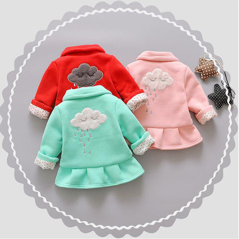 Baby Jacket Girl Autumn Spring jackets Toddler cardigan Tops Bebe Cotton Coat Infant Cartoon Outerwear Cute Clothes for Girls