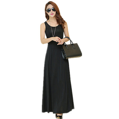 summer dress women 2018 fashion casual maxi dress plus size black dresses boho sundress party ladies elegant vestidos de fiesta