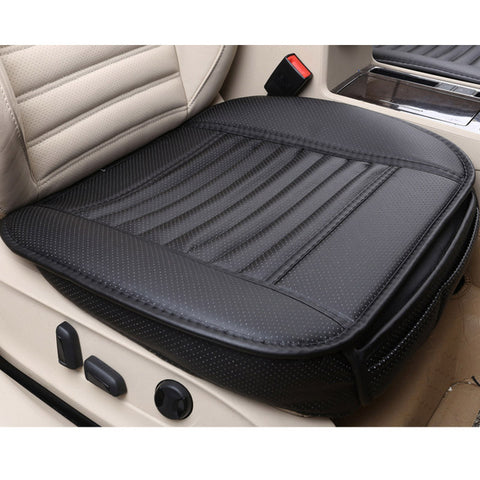 2018 brand new general car seat cushions,universal non-rollding up pads single non slide not moves bamboo-carbon car seat covers