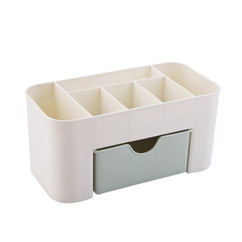 Urijk Plastic Makeup Organizer for Cosmetics Bathroom Desk Brush Organzier Jewelry home Storage Organizer Make Up storage Drawer