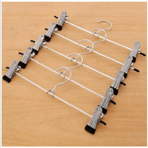 High quality stainless steel clothes hanger bra hanger anti-skip keep shape pants bra hanger rack home furnishing drop shipping