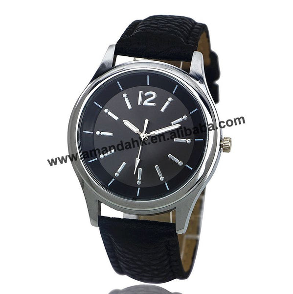 100pcs/lot 2016 wholesale men women watches fashion casual leather dress wristwatches hot sale women watches 8157