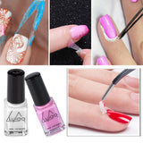 2 Colors Peel Off Liquid Tape From Nail Polish Protection Finger Skin Latex Protected Glue Easy Clean Tape Cream Nail Polish