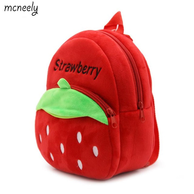 bb4916e684 1-3 Years Old Kids Plush Backpacks Cartoon Plush Toys for Kids New Cute  Mini School Bag Student Kindergarten Toy Bags