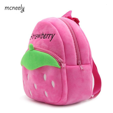 1-3 Years Old Kids Plush Backpacks Cartoon Plush Toys for Kids New Cute Mini School Bag Student Kindergarten Toy Bags