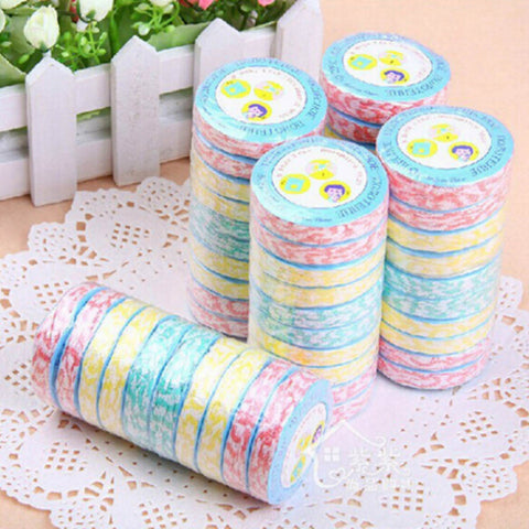 1 Pc Color Random Compress Towels Large Wood Fiber Nonwoven Compressed Towel Multicolor Portable Travel Towel Gift
