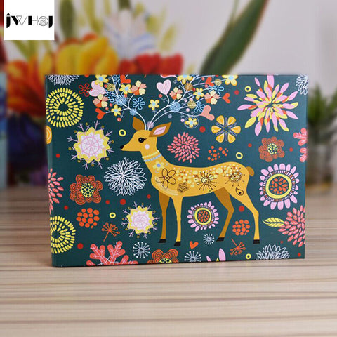 1 pcs Sika deer 10 inch Photo Album Wedding Photos kids Family Memory Record Album Handmade Sticky Type scrapbooking