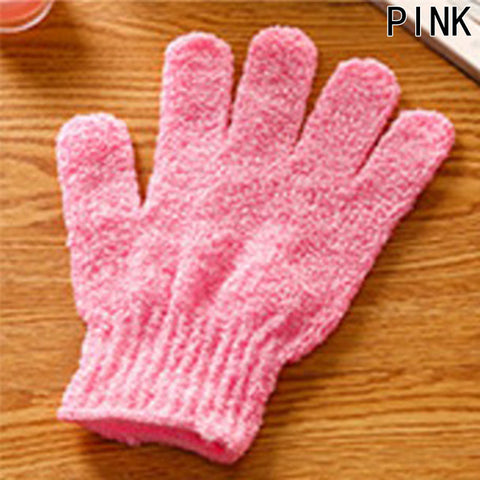1 Pcs Soft Spa Bath Gloves  Shower Exfoliating Wash Skin Massage Gloves Bathroom Body Scrubber Cleanning Bath Brushes