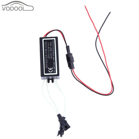 Waterproof DC 12V 10W Car Power Supply Inverter Converter for CCFL Angel Eyes Light Lamp Halo Rings Spare Ballast
