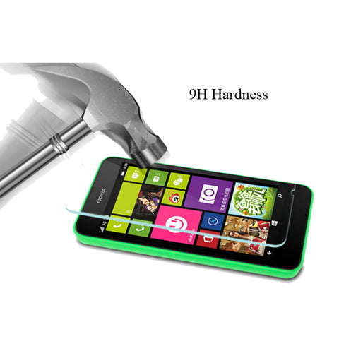0.3mm 9H Tempered Glass For Nokia Lumia 520 530 535 540 625 630 925 1045 1520 1320 650 X2 Protective Film  Screen Protector Case