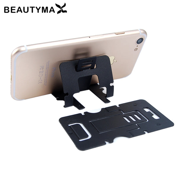 6pcs Card Phone Holder For Iphone 7 6 plus 5s Stand Holder For Samsung S8 plus S7 edge Support Display Universal Soporte Holder