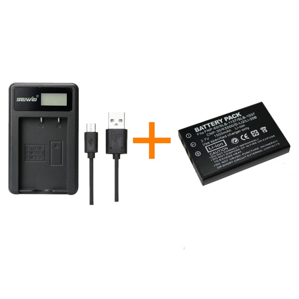 1 Pcs 1500 Mah Np 60 Np60 Battery With Lcd Single Charger Circuit Mobile Phone For Fujifilm F50i F401 F402 F501 Zoom F410 F601