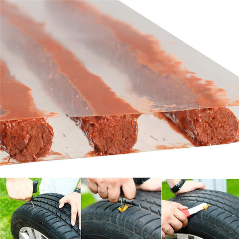 5pcs car repair tools Tire Repair Strip tire repair Scooter Car Motorcycle Tubeless Strips Sealer car Automobile Motorcycle Rub