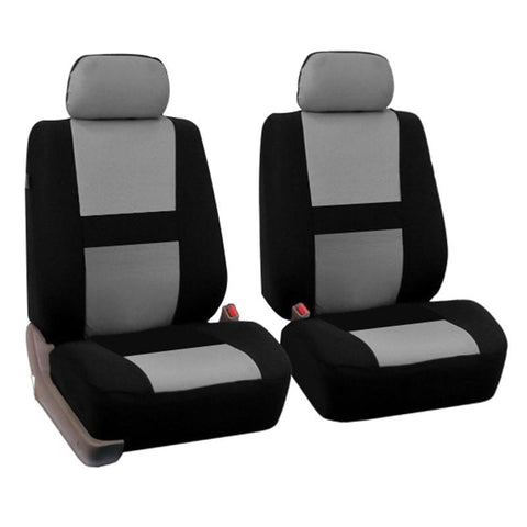 2Pcs Full Set Universal Fit Auto Car Seat Covers Light Breathable Interior Split Bench Covers Interior Seat Cover Car Seats
